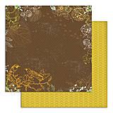 Papier - PS115 Set 6 obojstranných papierov 30,5 x30,5 cm 180g/m² kolekcia  Listy a príroda - 7687090_