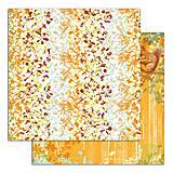 Papier - PS115 Set 6 obojstranných papierov 30,5 x30,5 cm 180g/m² kolekcia  Listy a príroda - 7687092_