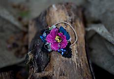 Ozdoby do vlasov - Kvetinová gumička do vlasov