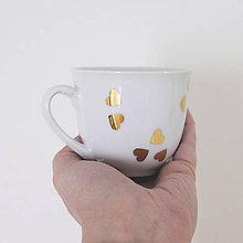 """Nádoby - Šálka """"srdcovka"""" espresso - 7687124_"""