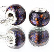 Korálky - Elegantná korálka na náramok PANDORA - Benátsky štuk - 7691550_