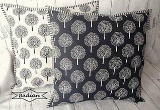 Úžitkový textil - Stromy ... vankúš (návliečka ) - 7691934_