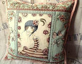 Úžitkový textil - Mirabelle ... No.1 vankúš - 7692018_