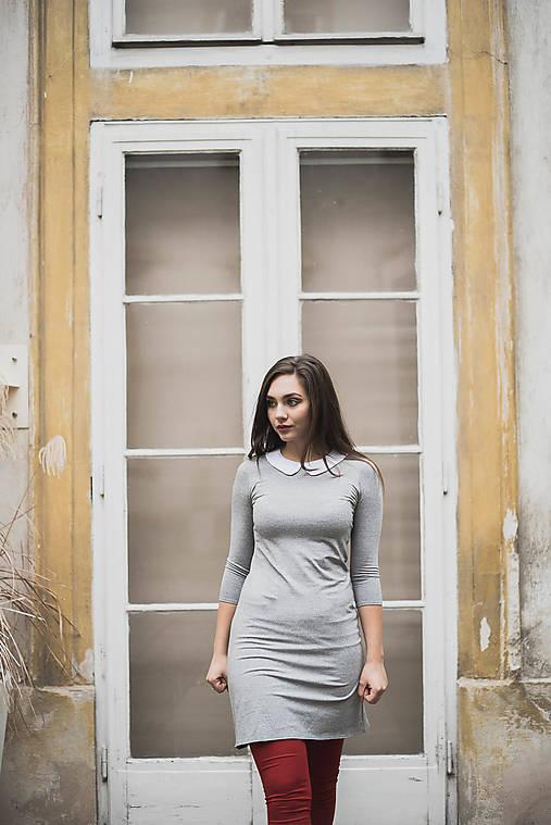 Šaty - Bambusové šaty upnuté Melánie XS/S - 7694087_