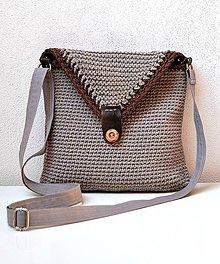 Iné tašky - Háčkovaná taška-crossbody - 7692183_