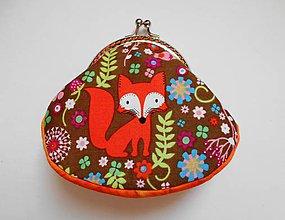 Peňaženky - Peňaženka s líštičkou - 7694357_