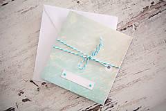 Papiernictvo - Pohľadnica - svadba/narodeniny - 7691961_