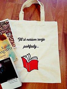 Nákupné tašky - Taška na knihy - 7691079_