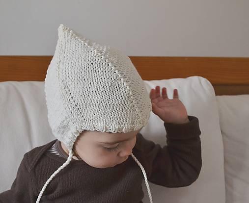 1b78eb91b Detská čiapka Merino 3-24 m / ma.k - SAShE.sk - Handmade Detské čiapky
