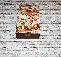 Krabičky - Vzducholoď a balóny - 7692147_