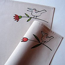 Úžitkový textil - NA KVÍTKU - prostírání - 7692363_