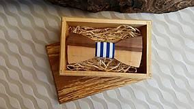 - Pánsky drevený motýlik - 7693742_