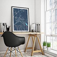 Grafika - ZVOLEN, elegantný, tmavomodrý - 7692175_