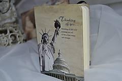 Papiernictvo - Zápisník s motívom NEW YORK - 7694417_