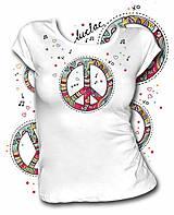 Tričká - Tričkos  krátkym rukávom - Peace - 7691258_
