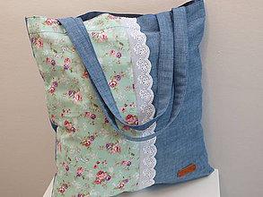 Nákupné tašky - ...Tilda,riflovina,madeira... - 7692013_