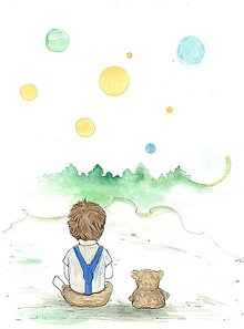 Kresby - Friends, aquarelle - 7690751_