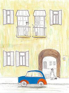 Obrázky - Neighbours, akvarel, kresba - 7692459_