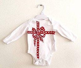 Detské oblečenie - Body-Darček pod tričkom - 7690758_