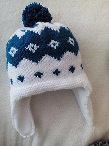 Detské čiapky - zimna podsita ciapka - 7691078_