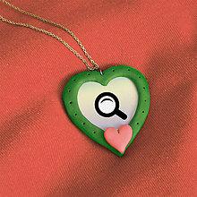 Náhrdelníky - Prívesok Hľadám lásku 5 - 7692753_