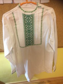 Košele - Krojová košeľa - 7694757_
