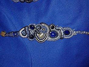 Náramky - kráľovský modrý - 7696172_