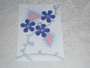 Papiernictvo - Pohľadnice kvietky - 7696464_