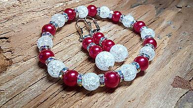 Sady šperkov - Súprava šperkov Krištáľové perly - 7696148_