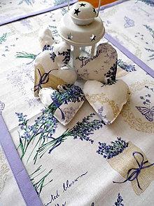Úžitkový textil - Levanduľová sada - 7696090_