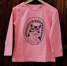 Detské oblečenie - detské tričko líška - 7695861_