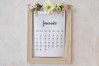 Papiernictvo - Kalendár romantická duša - 7696980_