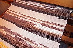 - Tkaný hnedý koberec 7 - 7697872_