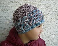 Detské čiapky - čiapka SPIRALA - 7699712_