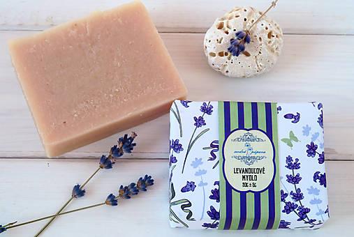 Drogéria - Voňavé levanduľové mydlo s ovseným mliekom (90g) - 7699883_