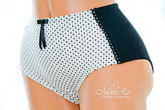 Bielizeň/Plavky - Dámske nohavičky klasické  extra vysoký pás - 7700453_