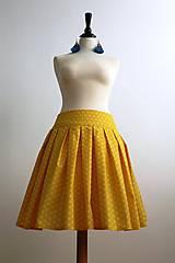 Sukne - slnečná suknička - 7701260_