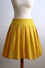 Sukne - slnečná suknička - 7701262_