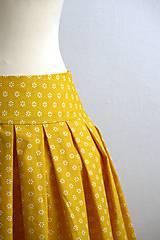 Sukne - slnečná suknička - 7701265_