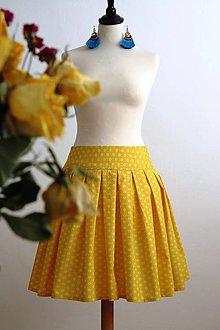 Sukne - slnečná suknička - 7701263_