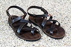 Obuv - Kožené sandále Celtic - 7701769_