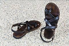 Obuv - Kožené sandále Celtic - 7701770_