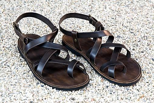 Kožené sandále Celtic