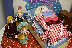 Rozprávka. Princezná na hrašku - Bábkove divadlo.