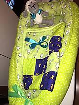 Textil - set hniezdo pre bábätko, deka, hračka - 7701461_