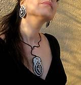 Sady šperkov - Extravagant snake - sada č.686 - 7700760_
