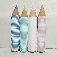 Úžitkový textil - Pásikavé ceruzky II. - 7700585_