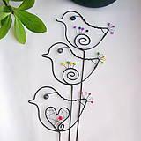Dekorácie - malý vtáčik - 7703865_