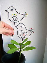 Dekorácie - malý vtáčik - 7703866_