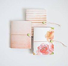 Papiernictvo - Mini 3 zápisníčky \